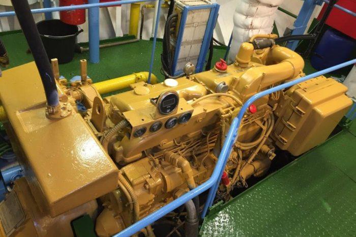 Rix Eagle Main Engine